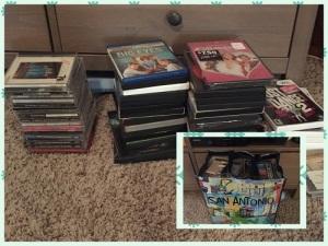 07 dvds cds
