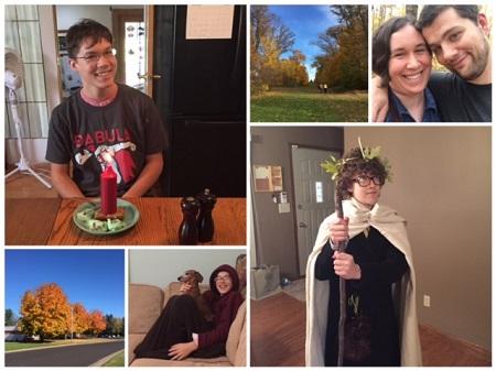 (scenes from October)